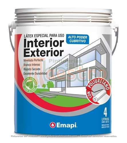 Latex Interior Exterior Blanco x 20